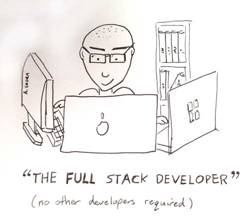 Generalist Full Stack Myth Front End Developer Handbook 2018